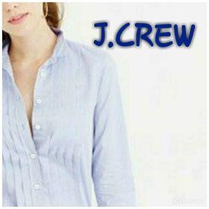 J.CREW LADIES TUXEDO SHIRT